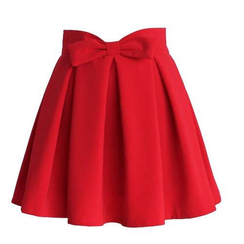 Chicwish-Bow-Skirt