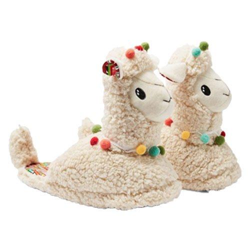 Llama slippers