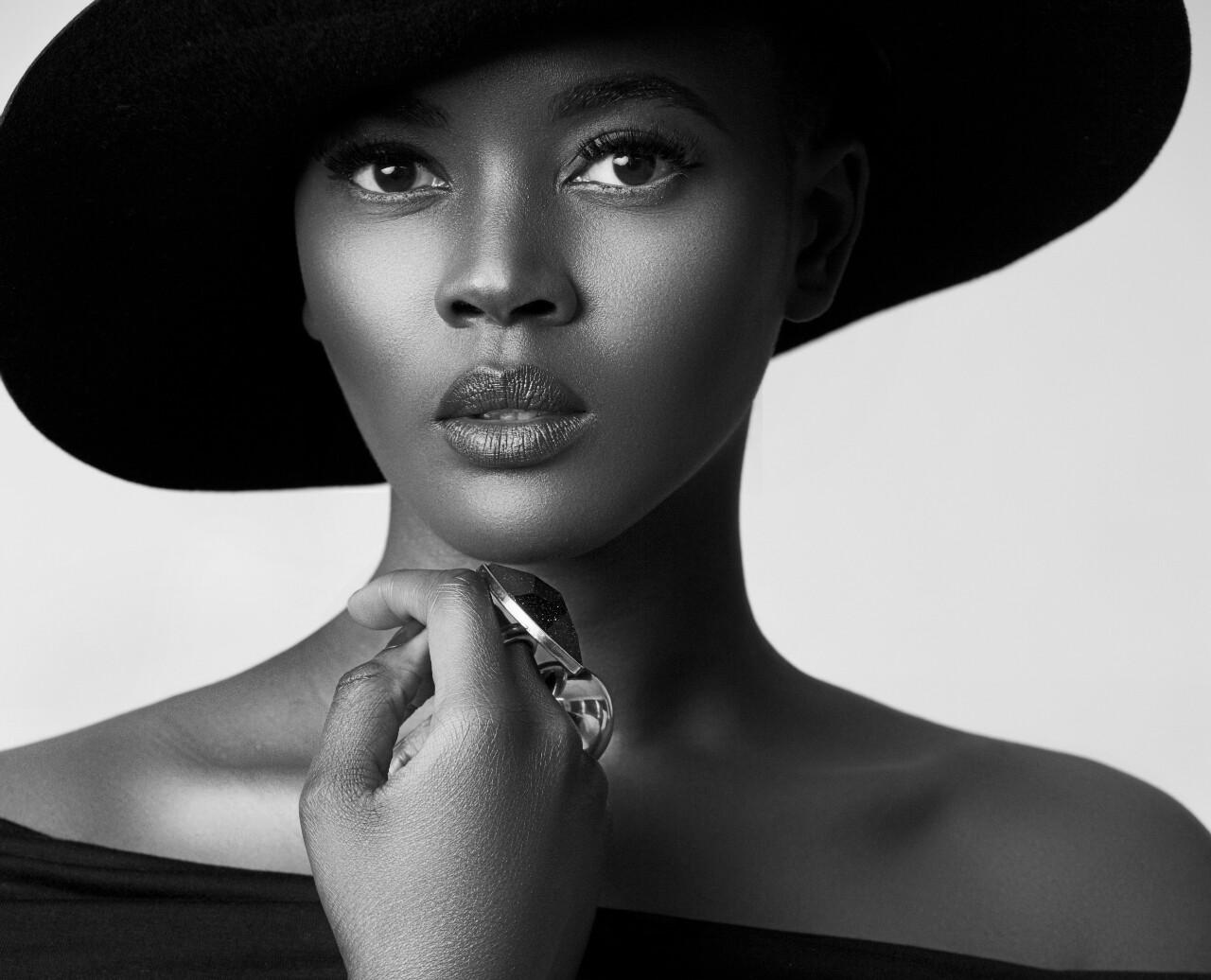Black hairy models
