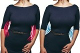 This corset ad was banned in the UK for being terrible for women's body image