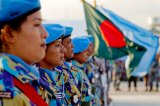 Ban calls for more female police in UN peace operations to combat violence against women