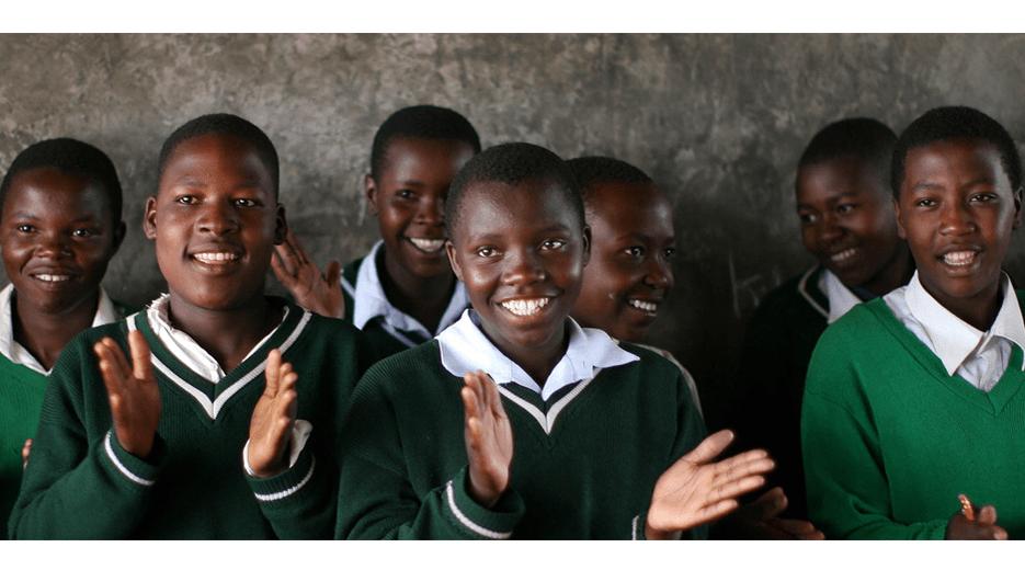 Tanzanian School girls