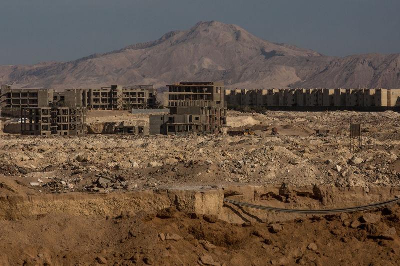 Hotels under construction (Photo: Chris McGrath/Getty Images)