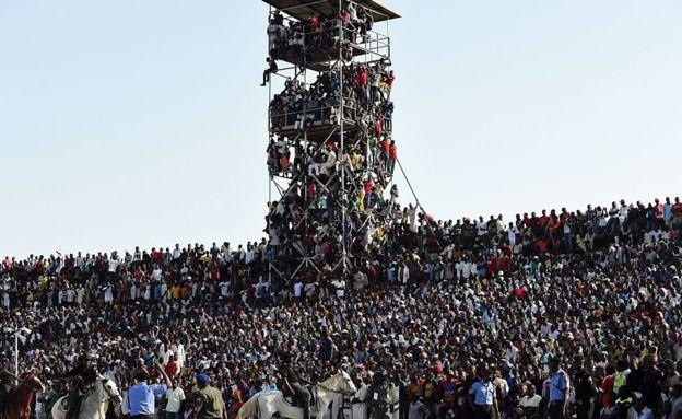 The Super Eagles draw big crowds in comparison to the Super Falcons.