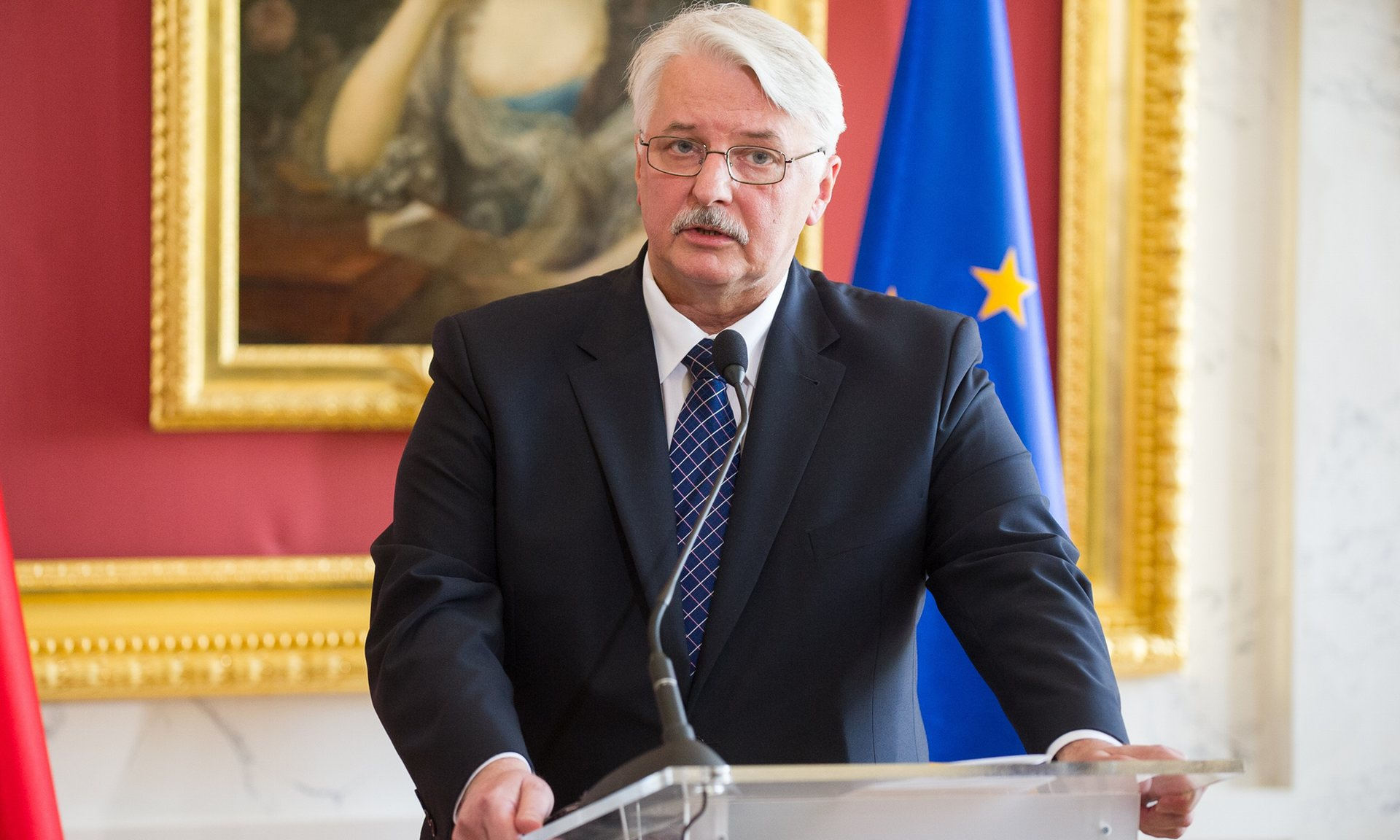 Witold Waszczykowski. Photograph: East News/REX/Shutterstock