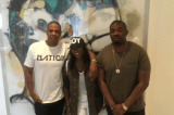 Tiwa Savage, Don Jazzy Meets Jay-Z in New York Over Management Deal