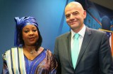 The President and Secretary General of FIFA Visits Nigeria