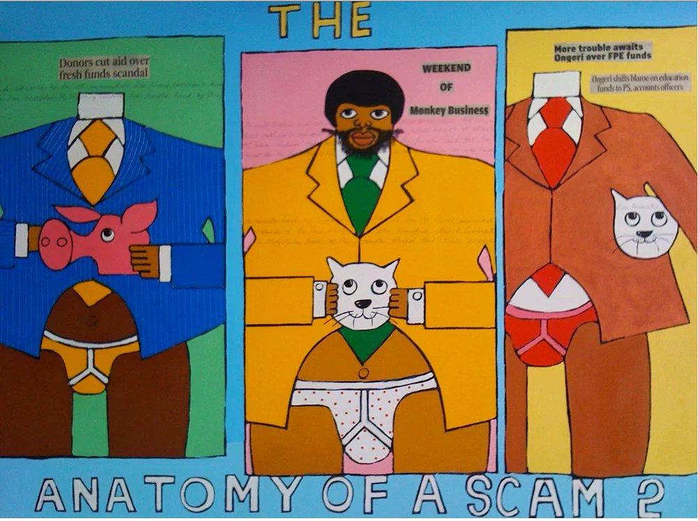 The Fat Cats by Michael Soi. Photograph: http://kimaniwawanjiru.com