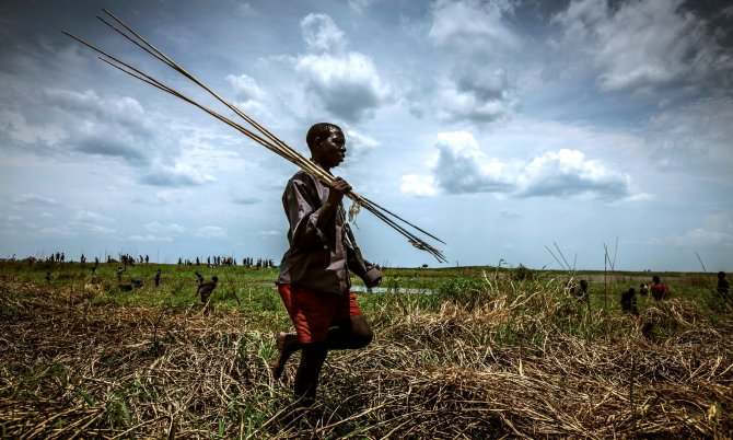 While HIV rates in Africa remain high, and there is political unrest in some regions, it is not applicable everywhere. Photograph: Felix Clay/Duckrabbit/World Fish