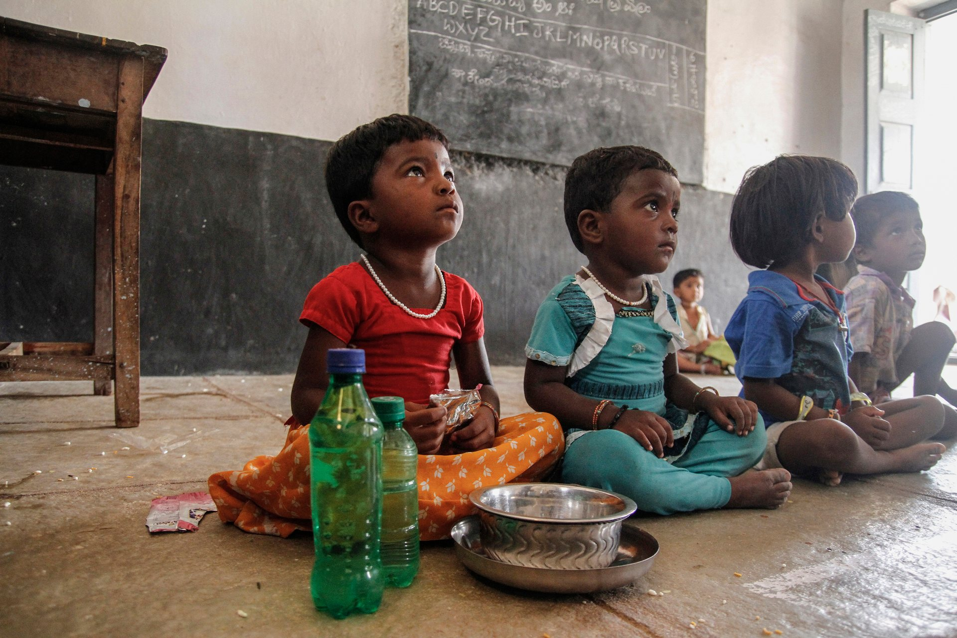 A child development centre in India, set up by the government in an effort to tackle malnutrition. Photograph: Ronny Sen/WaterAid