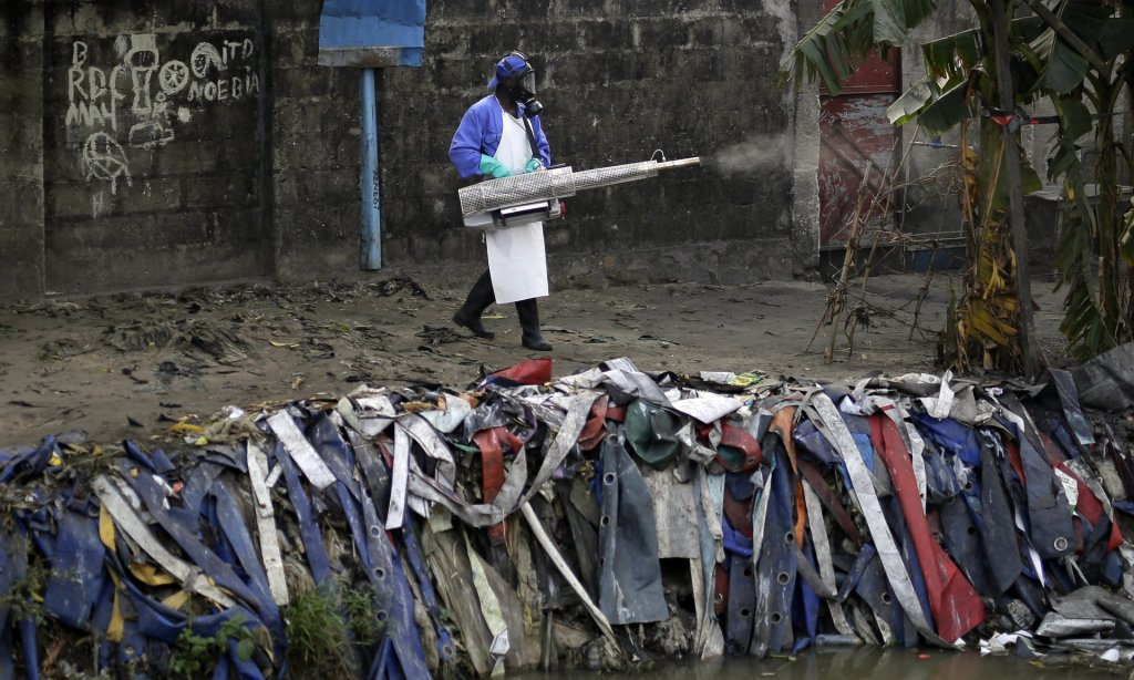 Time is running out to prevent the spread of yellow fever because the rains will begin in September. Photograph: Jerome Delay/AP