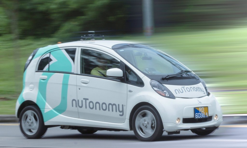 Nutonomy's trial will be used to gather data about customer journeys - and how passengers feel about being driven by software Photograph: Yap Way-J