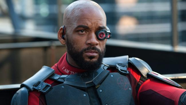 For the first time, Will Smith plays a villain in his latest film, Suicide Squad. Picture: Clay Enos/Warner Bros. Pictures via APSource:AP