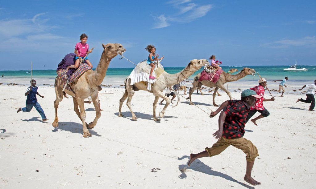 Tourists have returned to Kenya's beaches but are unaware of the death toll in the battle for locals' hearts and minds Photograph: Alamy Stock Photo