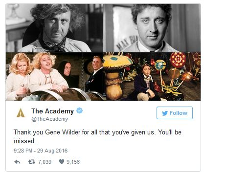 Wilder Tweet