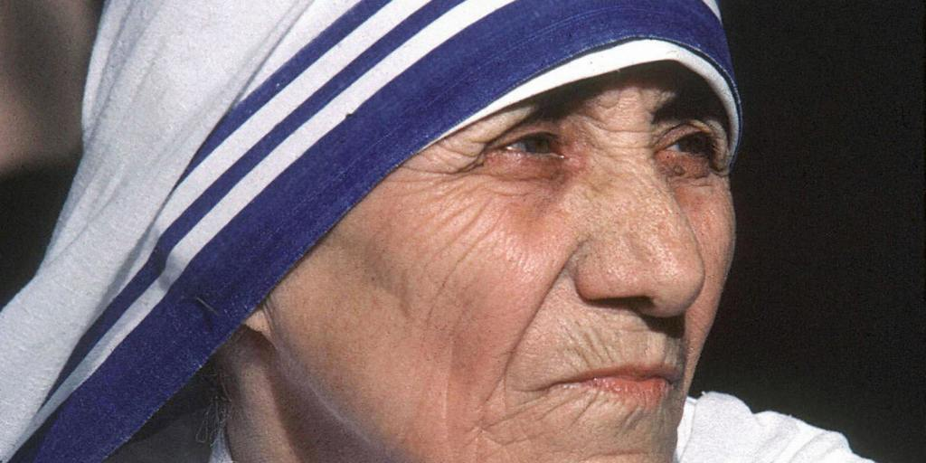 This undated photo shows Mother Teresa.  Photo: RAVEENDRAN/AFP/GettyImages