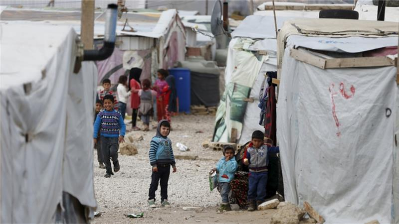 UNICEF says 45 per cent of the world's child refugees are from Syria or Afghanistan [Jamal Saidi/Reuters]