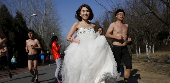Women are driving the declining rate of marriage in China. Kim Kyung-Hoon/Reuters