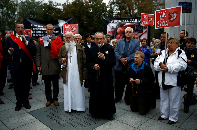 Religious 'pro-family' groups get more government support in Hungary and Poland. Kacper Pempel/Reuters