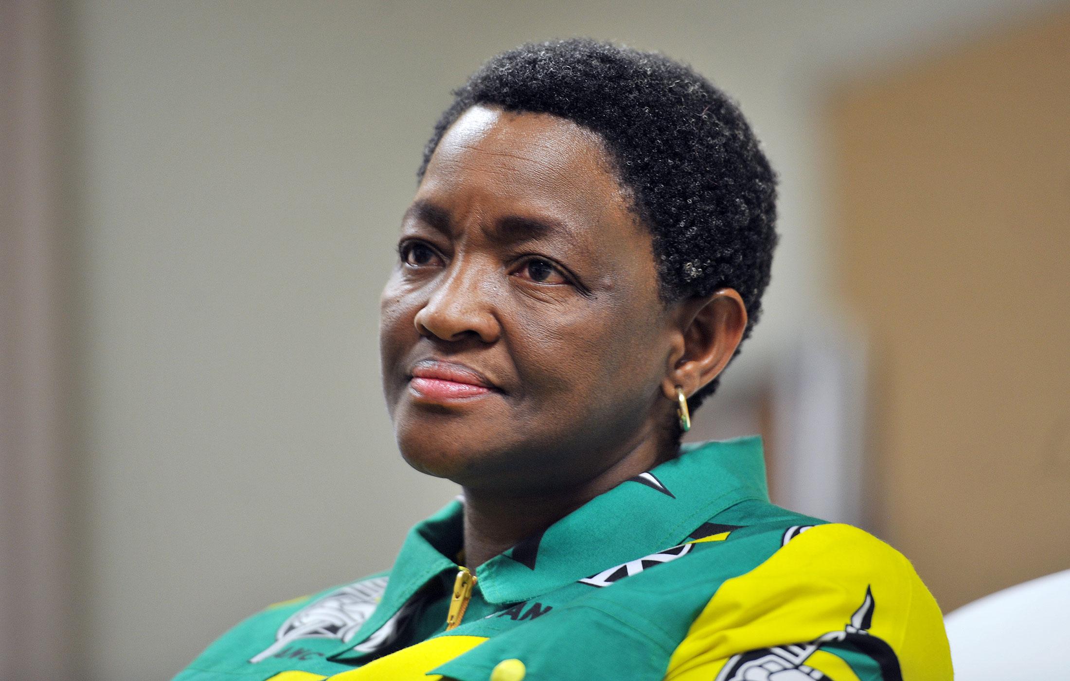 Bathabile Dlamini (Photo by Elizabeth Sejake/City Press/Gallo Images/Getty Images)