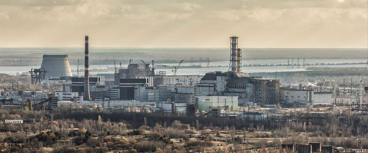 Chernobyl Nuclear Power Plant. Photo Philip Grossman