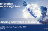 World Intellectual Property Day: Innovation – Improving Lives