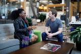 Mark Zuckerberg Meets Founder Of Nigerian All-Female Facebook Group