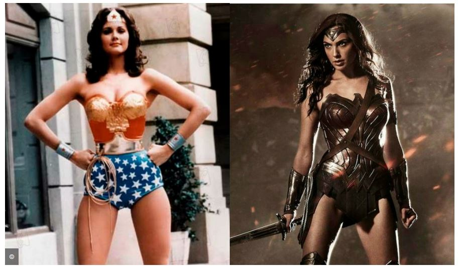 New and Old Wonder Woman