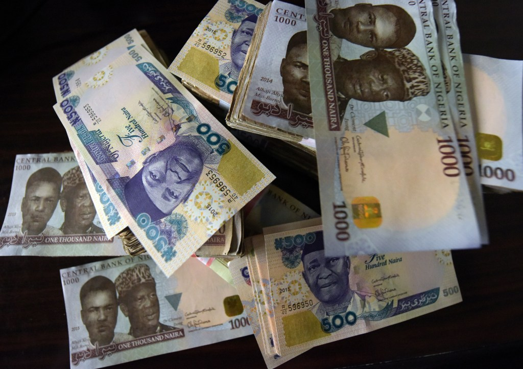 Naira banknotes, Nigeria's currency.Photo: PIUS UTOMI EKPEI/AFP/Getty Images)
