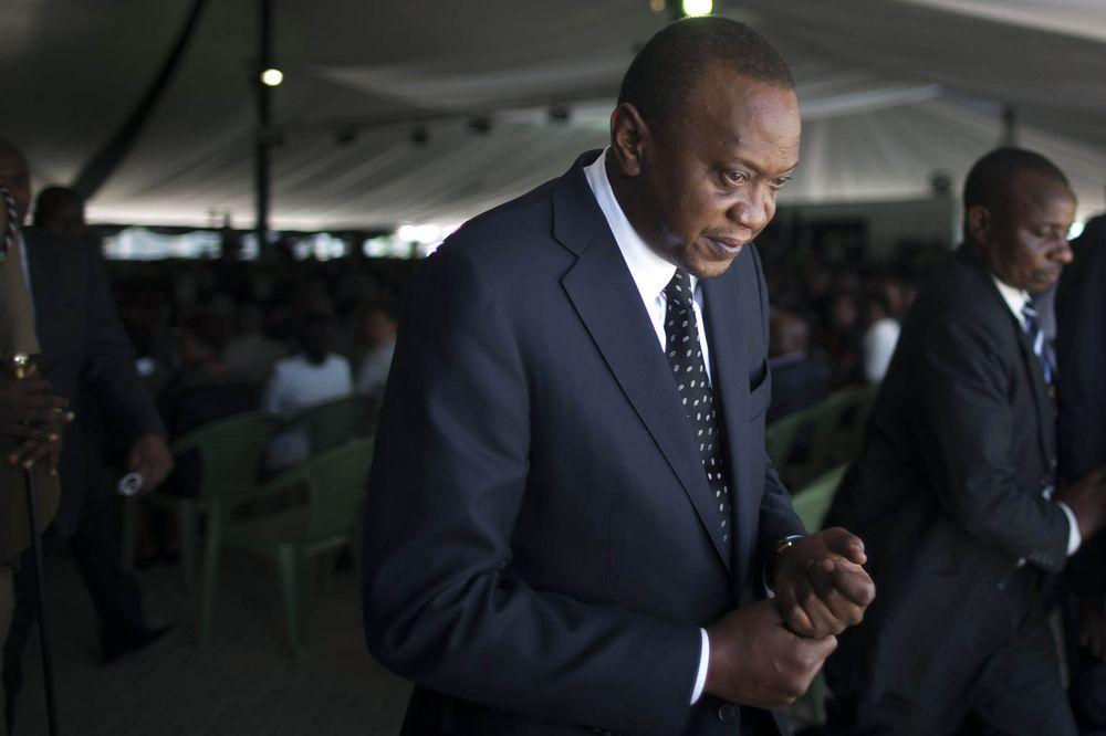 Uhuru Kenyatta Photographer: Uriel Sinai/Getty Images