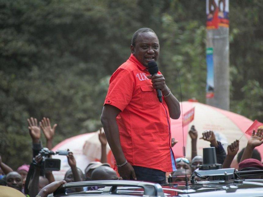Uhuru Kenyatta campaign