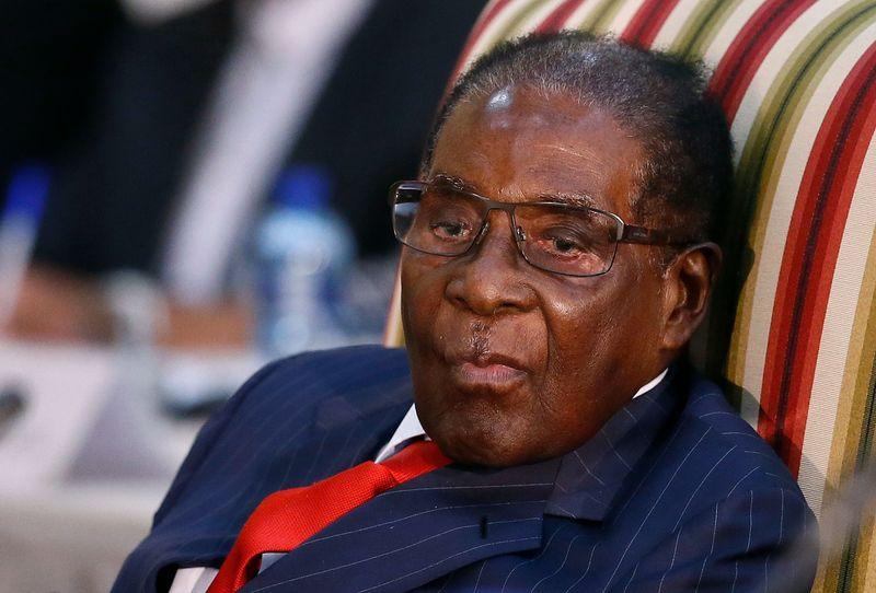 Robert Mugabe Photographer: Phill Magakoe/AFP via Getty Images