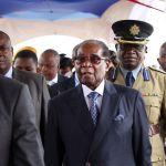 Robert Mugabe at a graduation ceremony in Harare, Nov. 17. Photographer: Bloomberg