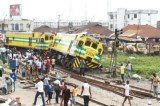 Three Feared Dead, Many Injured As Train Derails In Lagos