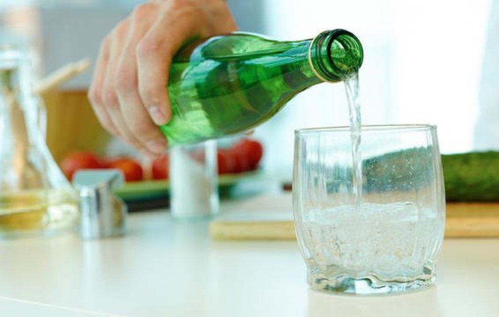 seltzer soda water