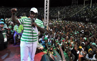 Julius Maada Bio Photographer: Issouf Sanogo/AFP via Getty Images