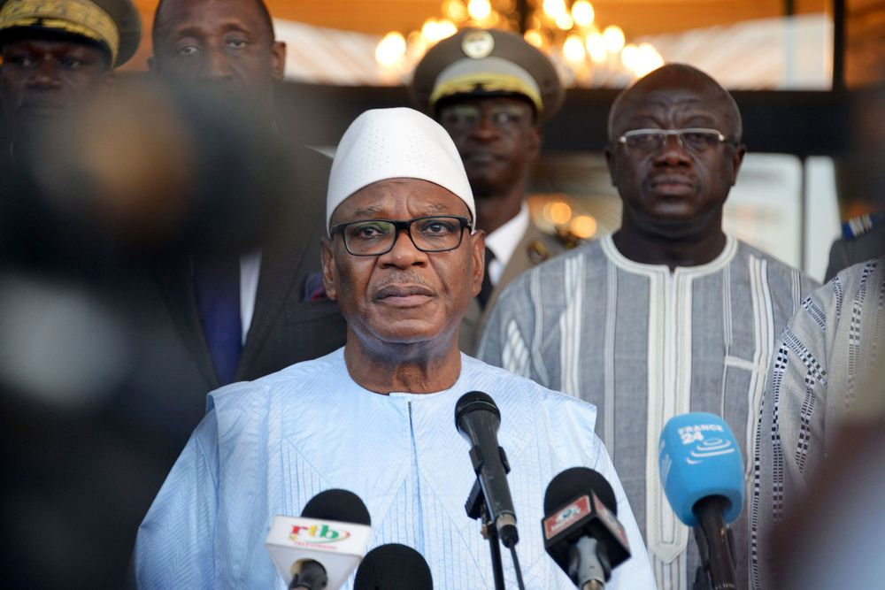 President Ibrahim Boubacar Keita AHMED OUOBA/AFP/Getty Images