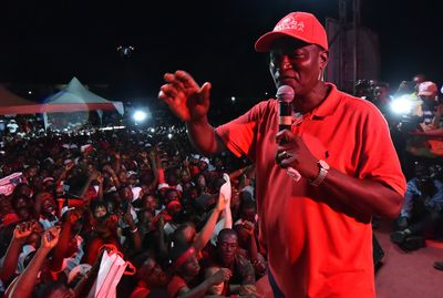 Samura Kamara Photographer: Issouf Sanogo/AFP via Getty Images