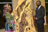 Noria Mbasa The Woman Whose Sculptures Tackle Gender Violence