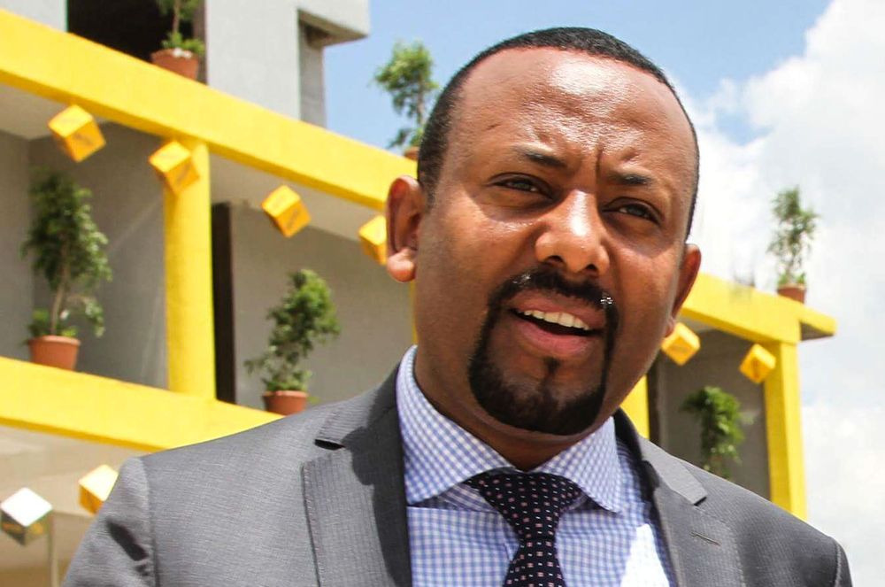 Abiy Ahmed  Photographer: Samuel Gebru/AFP via Gett Images
