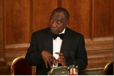 Ramaphosa Cuts Short Britain Trip To Deal With Protests At Home