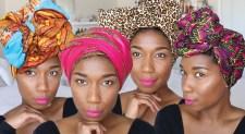 Four DIY Ways To Style Your Head Wrap