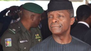 Vice-President Yemi Osinbajo has emerged as one of the heroes of the siege. Photo: Getty Images