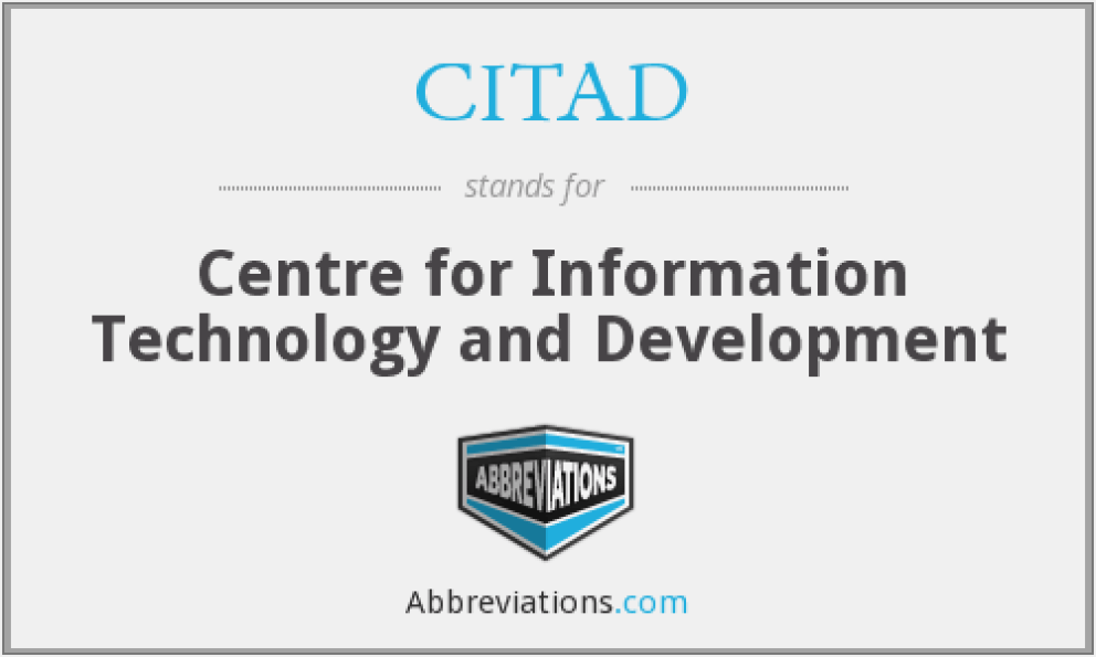 Centre-for-Information-Technology-and-Development-CITAD