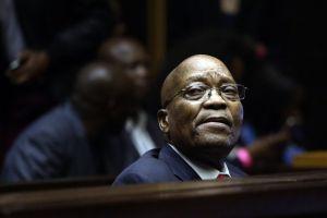 Jacob Zuma.  Photographer: Phill Magakoe/AFP via Getty Images