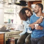Taking just a few minutes each day to devote to one another can benefit a couple's relationship post baby. Photo: iStock