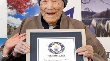 World's Oldest Man Dies In Japan At 113