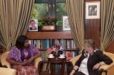 First Ladies Weah, Rivlin Discuss Empowerment Of Liberian Women Through Agriculture