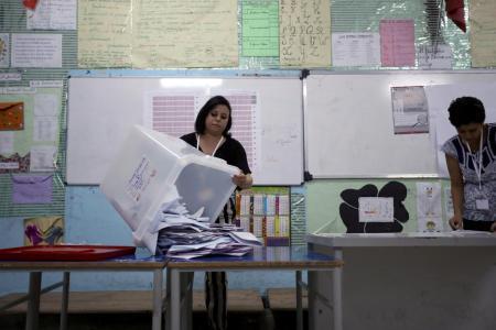 Tunisians Vote For New President