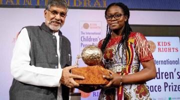 Cameroon Teen Girl Wins International Children's Peace Prize